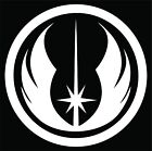 STAR WARS Jedi Order Logo Decal / Sticker Choose Size & Color The Force Awakens $2.95 USD
