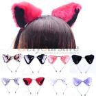 Orecchiette Party Cat Fox Long Fur Ears Anime Neko Costume Hair Headband Cosplay