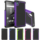 Hybrid Shockproof Rugged Rubber Matte Hard Skin Case Cover For Sony Xperia Z5
