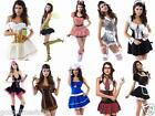 Naughty Sexy Costumes Womens Hen Night Bridal Party Dress Fancy Dress Bedroom