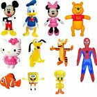 Inflatable Disney Characters Blow Up Toys Cartoon Party Bag Fillers for Kids