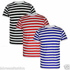 Boys Wheres Wally Red And White Stripe Tshirt Black Blue Stripe Top