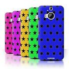STUFF4 Phone Case/Back Cover for HTC One M9+/Plus /Stars Pattern