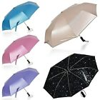 Starry Sky Automatic Open & Close Folding Windproof Anti-UV Rain/Sun Umbrella