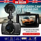 Full HD 1080P In Car DVR Camera Video Recorder Dash Cam Night Vision G-Sensor UK