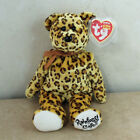 Ty Beanie Baby Leopold - MWMT (Bear Rainforest Café Exclusive)