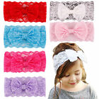 Kids Baby Girl Toddler Lace Bowknot Headband Hair Band Headwear Accessories New