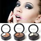 Hot 3 Colors Eyeshadow Natural Cosmetic Makeup Palette Portable Professional Set