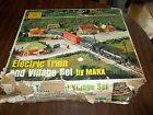 WOW! VINTAGE MARX TRAIN 4341 ENGINE CABOOSE FREIGHT FLAT & COAL CARS TRANSFORMER