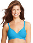 Hanes Women's Perfect Coverage Comfort Fit Four Way Stretch Wirefree Bra. G260