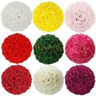 New Silk Rose Pomander Flower Kissing Ball Wedding Party Home Decoration