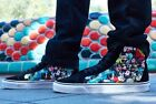 VANS X DISNEY SK8 HI REISSUE RABBIT HOLE BLACK ALICE IN WONDERLAND MENS SIZES