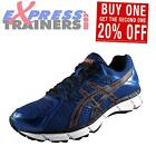 Asics Mens Gel Oberon 10 Running Shoes Gym Trainers Blue *AUTHENTIC*