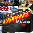 2017 MXQ Pro Quad Core M8S Android 6.0 Smart TV Box Fully Loaded KODI XBMC UK