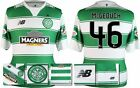 *15 / 16 - NEW BALANCE ; CELTIC HOME SHIRT SS + PATCHES / McGEOUCH 46 = SIZE*
