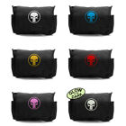 Black Canvas Military Messenger Shoulder Bag w/ Marvel Punisher Skull Ring Logo