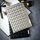 New Hand Woven Genuine Sheep Leather Case Cover Skin For iPad Mini Air 1 2 3 4 5