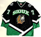TJ OSHIE NORTH DAKOTA FIGHTING SIOUX BLACK JERSEY WASHINGTON CAPITALS TJ