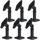Six-Black-Wall-Ceiling-Speaker-Bracket-Mount-for-5-1-Home-Theater-Surround-Sound