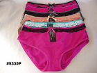 Lot of 6 Womens Plus Size Panties Underwear clothing Size 2XL 3XL 4XL #9335P