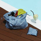 HIMORI WEEKADE ISLAND BAG- Packable Fabric Travel Tote Bag /Reusable Shopper Bag