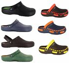 NEW MENS COOLERS GARDEN WORK HOSPITAL KITCHEN BEACH HOLIDAY CLOGS SANDALS UK7-12
