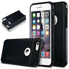 Black Hybrid Shockproof Hard Rugged Heavy Duty Cover Case For iPhone 5 6 6S Plus