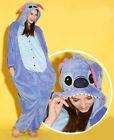 Blue Stitch Adult Animal Onesies Onsie Kigurumi Pyjamas Sleepwear Onesie Dress