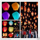 Chinese Paper Lanterns Candle Lamp Sky Flying Wishing  for Wedding Party decor