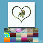 Heart Poodle Dog Love - Decal Sticker - Multiple Patterns & Sizes - ebn1499