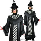 CL642 Chess Piece King Mens Mardi Gras Boardgame Halloween Fancy Dress Costume