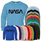Nasa Mens Sweat New Unisex Style Long Sleeve Top Sweat Shirt