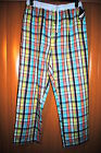 NAUTICA MENS DESIGNER LOUNGE PANTS MULTI-COLOR SIZE LARGE RP $39.00 NWT