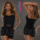 Sexy European Women's Overall Jumpsuit Size 8 10 Hot Pants Top One Piece Outfit