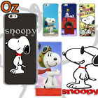 SNOOPY Cover for iPhone 6 Plus/6S Plus, Peanuts Design Painted Case WeirdLand