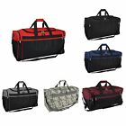 "DALIX 25"" Extra Large Travel Vacation Overnight Duffle Bag in Black"