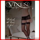 New Couture Vixen Ingrid lace suspender knickers 100% polyester size M L XL