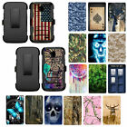 For ZTE Allstar LTE Z818G / Stratos Z819C Hybrid with Holster Kickstand Case