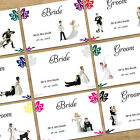 Personalised Wedding Table Name Place Cards With Guests Names - 10 Funny Designs