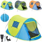 2 person man pop up tent fast quick pitch camping instant festival hiking