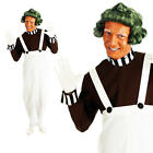 Oompa Loompa + Wig + Paint Adult Fancy Dress Book Character Mens Lumpa Costume