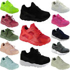 LADIES RUNNING TRAINERS WOMENS FITNESS GYM SPORTS INSPIRED SHOES SIZE