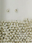 925 Sterling Silver 5mm Corrugated Round Spacer Beads, Choice of Lot Size-Price