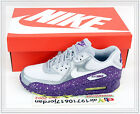 2014 DS Nike Wmns Air Max 90 Wolf Grey Purple 325213-030 NSW Running 1 Splatter