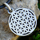 Small Flower of life Pagan hexagon sacred geometry CROP CIRCLES Pewter Pendant