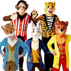 Mr Story Animal Childs Fancy Dress Book Week Day Childrens Boys Costume Outfits