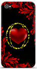 Cover Case Per  iPhone 4 4S 5 5S / Galaxy S3 S4 S5 - CUORE HEART ROSSO RED - 22
