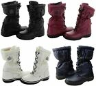Coach Womens Sage Lace Up Cold Weather Hiking Snow Mid-Calf Winter Boots Shoes