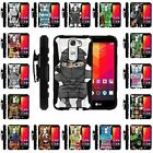 For LG Escape 2 | Clip + Holster + Case Combo Kickstand Cartoons and Animation