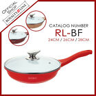 Royalty Line Ceramic Coating Wok with Glass Lid